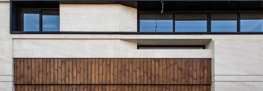 طراحی زیبا و کاربردی نمای ساختمان مسکونی در اصفهان